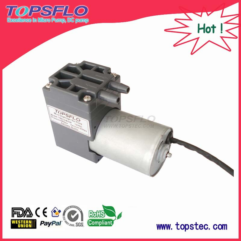 TZ512-12-8003 mini dc vacuum pump for battery operated nasal aspirator(China (Mainland))