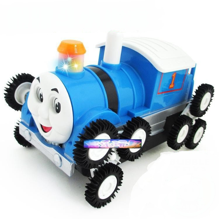 12 rounds of skip electric vehicles Black rounds of flash Super cool Musical Toy Car(China (Mainland))