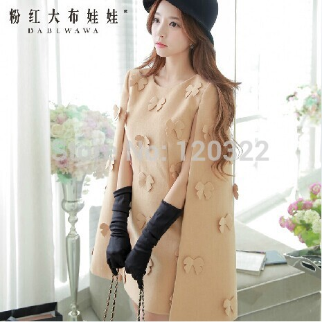 Здесь можно купить  Original New Fashion 2014 Brand Autumn and Winter Camel Plus Size Slim Elegant Casual Wool Shawl Women Dress Vestidos Wholesale Original New Fashion 2014 Brand Autumn and Winter Camel Plus Size Slim Elegant Casual Wool Shawl Women Dress Vestidos Wholesale Одежда и аксессуары