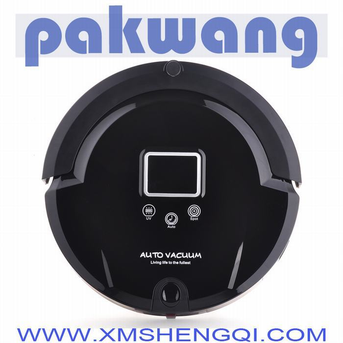 battery robot aspirateur robot vacuum cleaner brush cleaner cordless rechargeable sweeper,low noise,long working time(China (Mainland))
