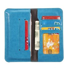 For huawei u9500 Ascend D1 Wallet Case Pouch Universal 4.0-4.7 Inch PU Leather Card Slot Luxury Phone Bags Cases cover(China (Mainland))