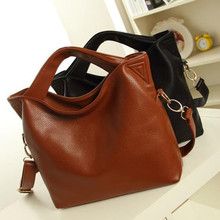 With Good Gifts!2015 women's genuine leather shoulder bags women messenger bags handbags women famous brand bag Q5(China (Mainland))