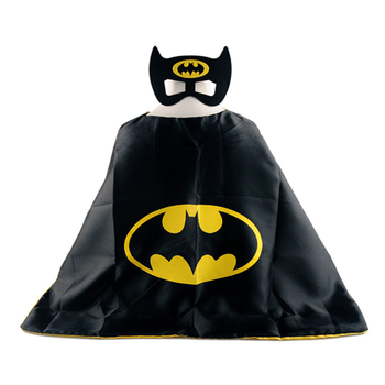 Cape and Mask Kids Batman Superhero Capes for boys and girls