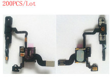 (4G906200AM)(200PCS/Lot by AM)100% Top Quality Guarantee for iPhone 4 Proximity Sensor+Ear Speaker+Power Button Flex Cable