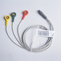 Electrode Lead Wire Cable For Portable Heart Ecg Monitor Prince 180B PC 80B
