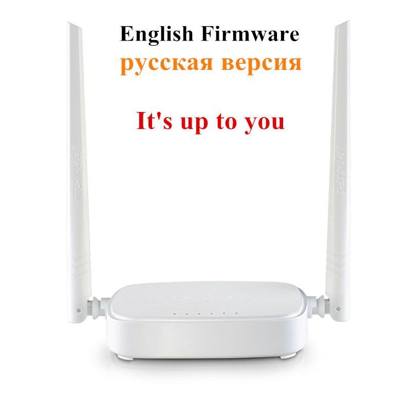 Tenda N301 V2 Wireless WIFI Router 300Mbps 802.11b/g/n/3/3u English or Russian Firmware Version wi fi reapeter(China (Mainland))