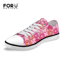 Fashion women canvas shoes breathable casual solid color flat walking Outdoor female leisure zapatos - FORUDESIGNS Franchised Store store