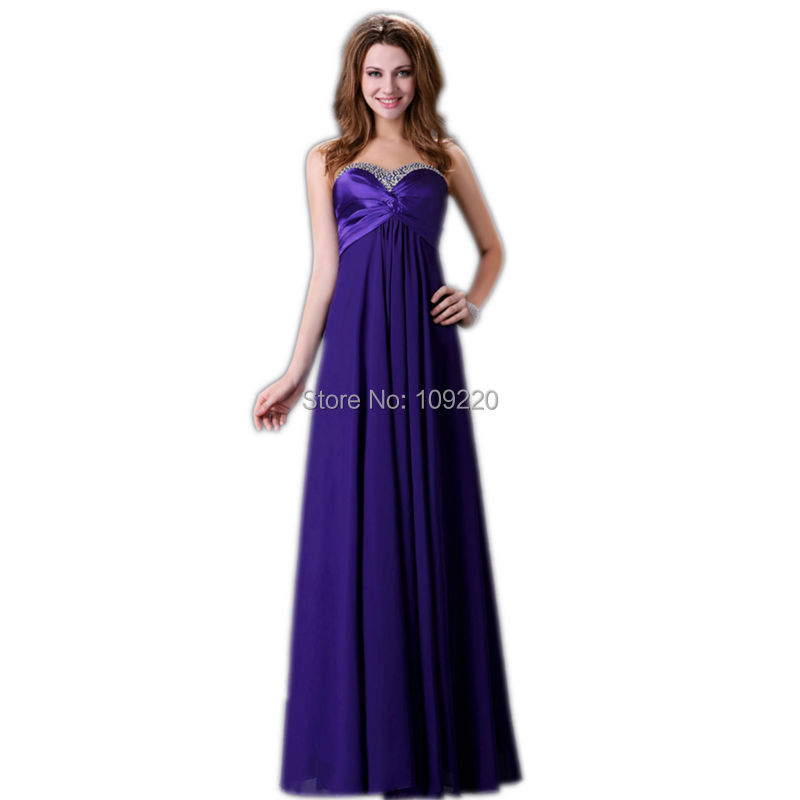 Purple Prom Dresses 2016 Long Cheap 113