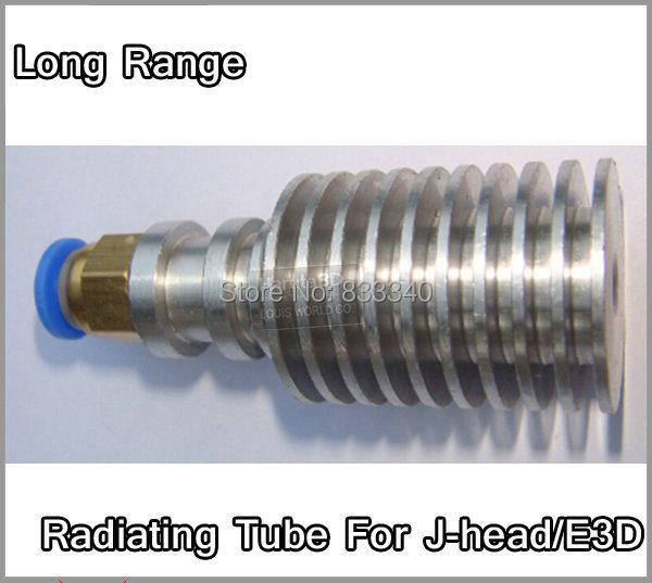 Full Metal Long Distance J head Hotend Radiating Tube for 3D Printer bowden extruder RepRap MakerBot