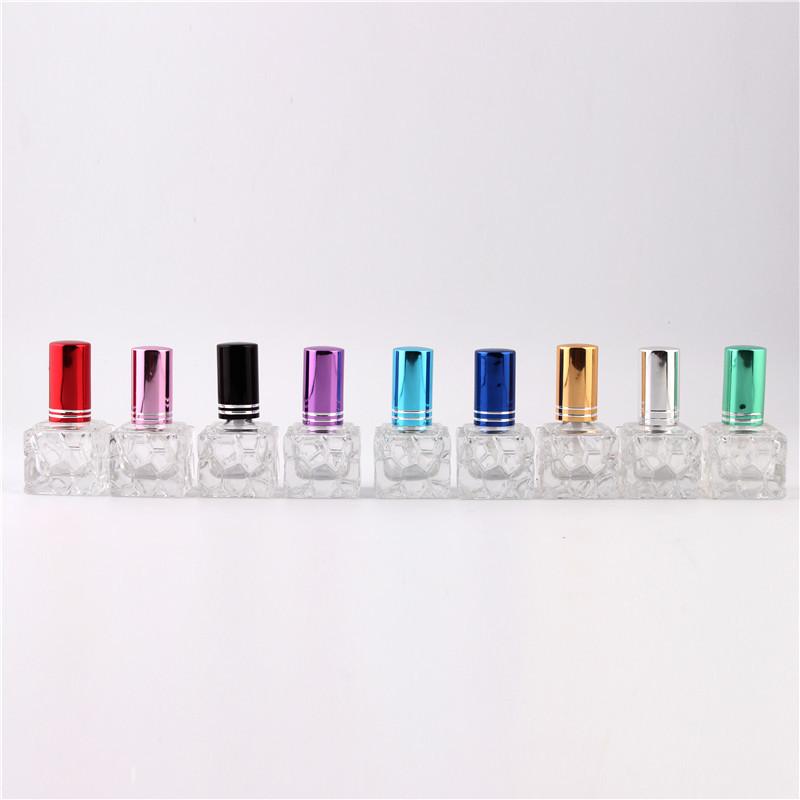 XYZ - Stylish 8ml Unique mini glass perfume bottle Sprayable refillable perfume bottle atomizer(China (Mainland))