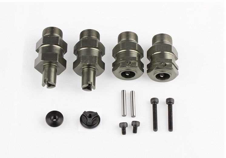 Aliexpress com buy signswise clipless silver wheel axle hub extender for hpi baja 5b 5t 5sc km
