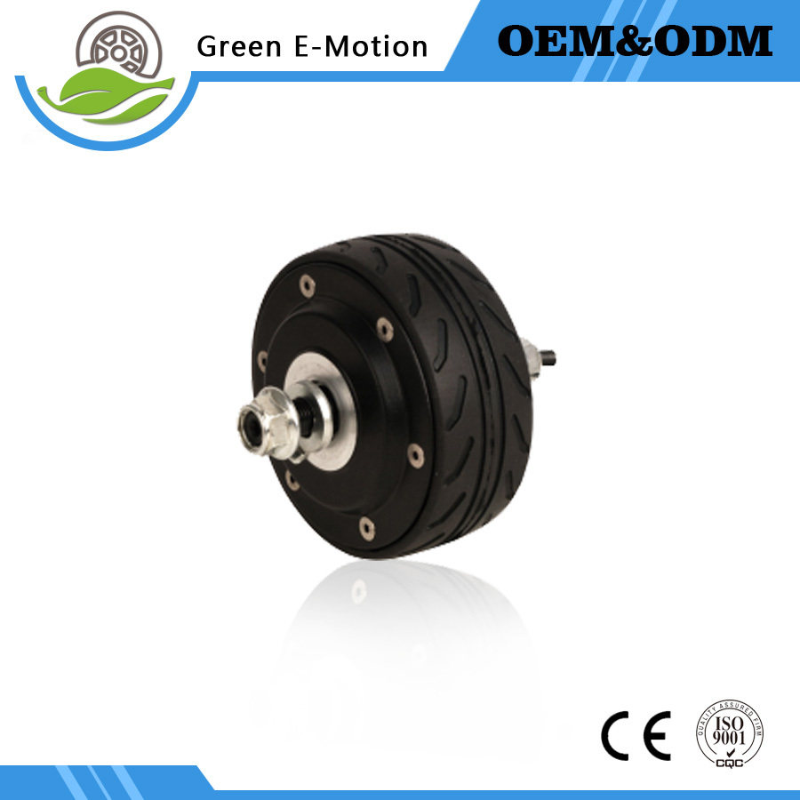 small electric wheel motor 4inch hub motor 24V 200W hub motor electric self balancing scooter motor electric scooter robot wheel(China (Mainland))