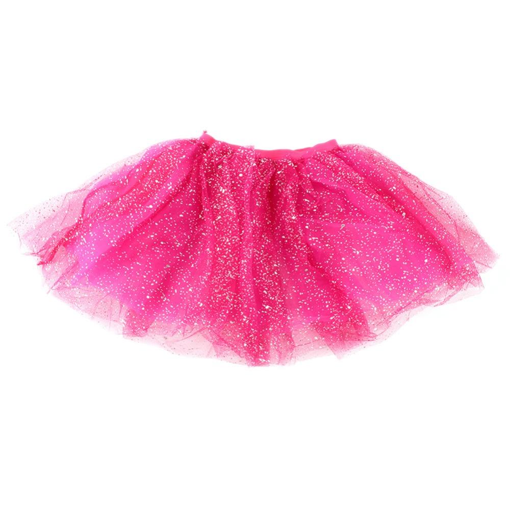 Nice Kids Girl Princess Short Tutu Skirt Bling Tulle Party Ballet Dance Cake Tutu Skirt