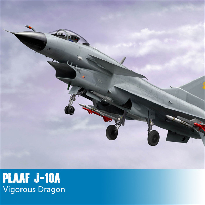 Trumpeter 1/48 Scale PLAAF J-10A Vigorous Dragon Fighter Aircraft Plastic Assembly Military Models 02841(China (Mainland))