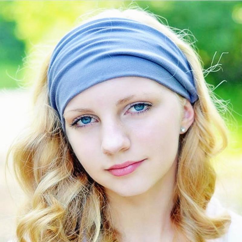How to wide wear elastic headbands