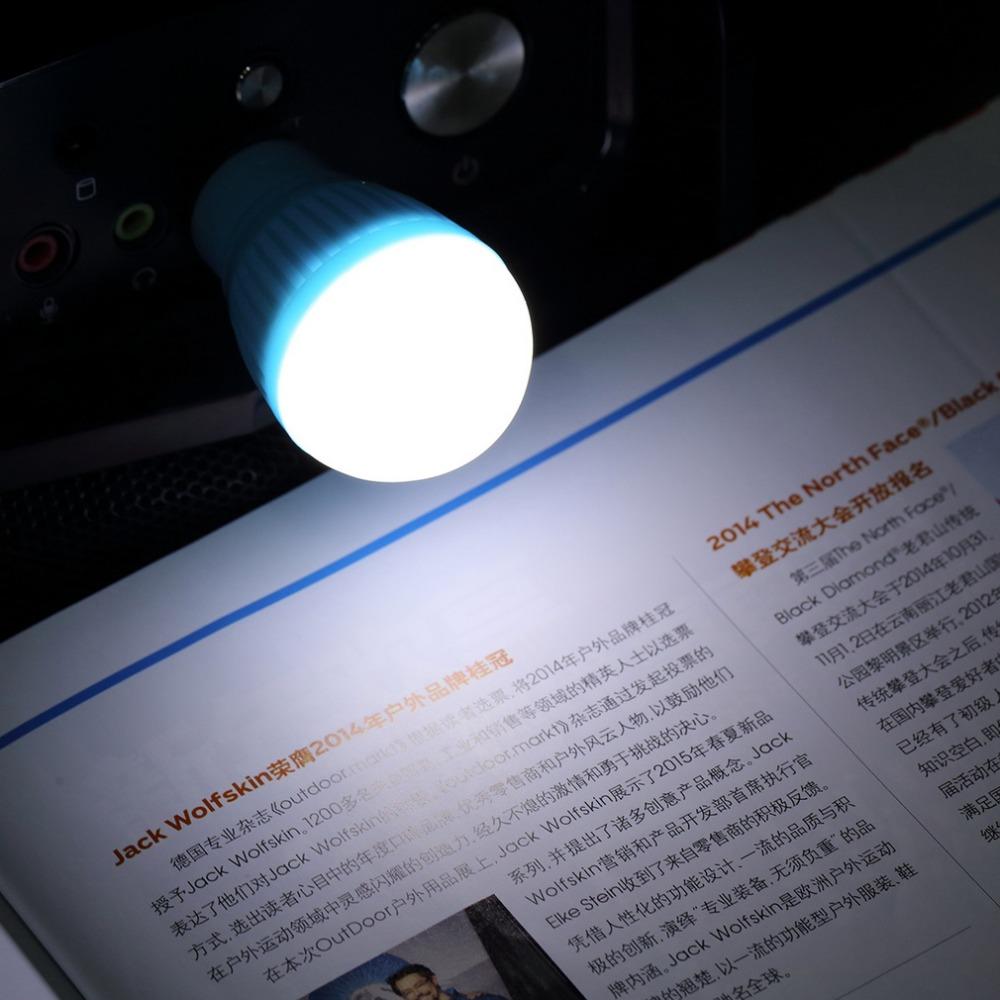 New Portable Mini USB LED Light Lamp Bulb For Computer Laptop PC Desk Reading Promotion(China (Mainland))