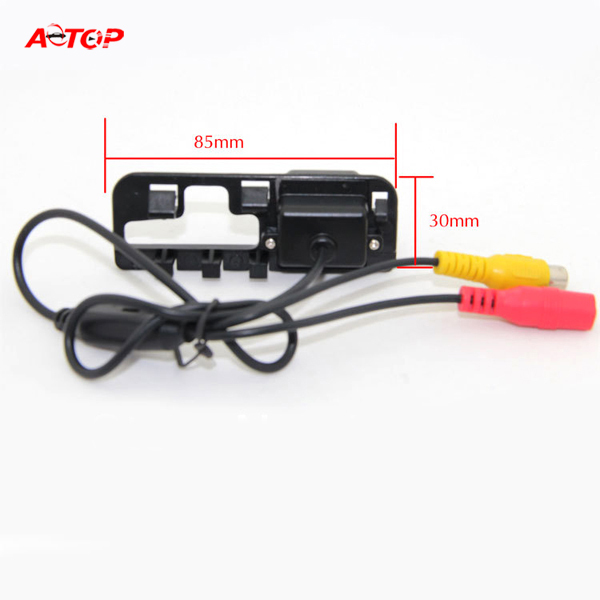 For Honda Civic 2007 2008 CCD Car Reverse Rear View Backup camera with Guide Line IR Auto Reverse system waterproof(Hong Kong)