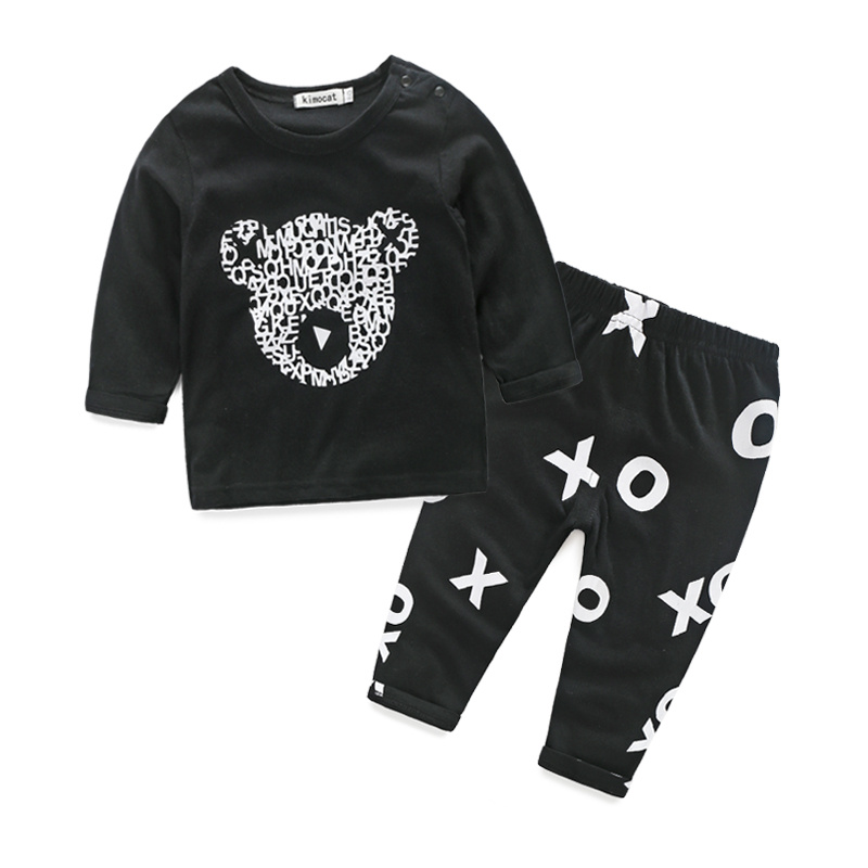 2016 new style baby boy clothes long sleeve cool baby