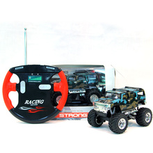 Electric RC Cars Hummer Off-road Vehicles Damping 4CH Remote Control Car With Lights Multicolour Mini Toy Car RC Juguetes Gifts!(China (Mainland))