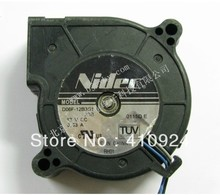 Used Free Shipping DC12V 0.33A Server Cooling Fan For Nidec D06F-12B3S1 20B Server Square Fan 60x60x25mm 3-wire