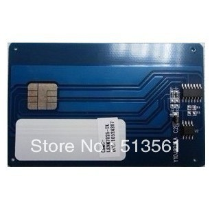 Free shipping!Compatible  Ricoh  SP1100 series toner chip,Free shipping Ricoh High quality Cartridge reset chip.