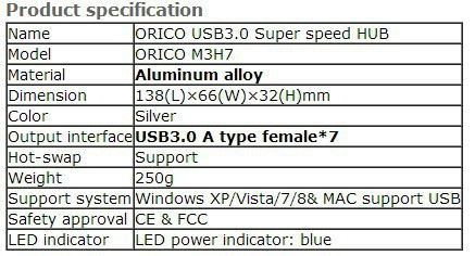 USB3.0 HUB 5