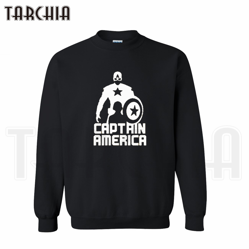 TARCHIA free shipping pullover font b sweatshirt b font personalized man coat casual parental captain American