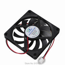 5pcs/Lot GDT 12V 2pin 8010s 8cm 80mm 80 x 80 x 10mm DC Cooling Fan(China (Mainland))