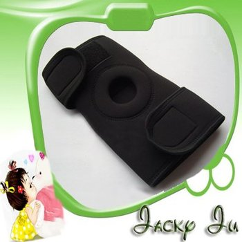 Free Shipping New Black Adjustable Sports Knee Brace Patella Knee Protector Pad Support