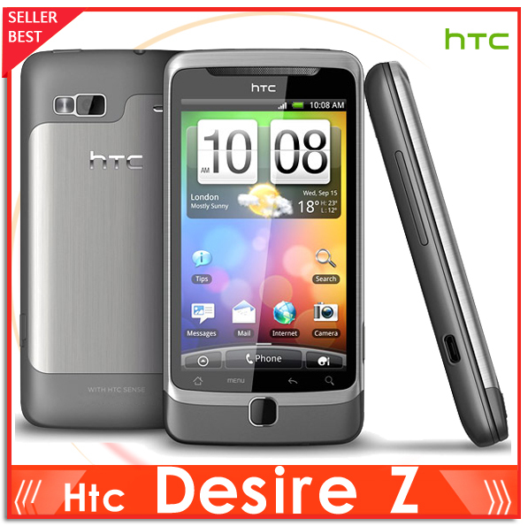 A7272 Original Unlocked HTC Desire Z Cell phone 1.5GB 3G 5MP GPS WIFI Android OS 2.2 QWERTY SLIDE SMARTPHONE Free Shipping(China (Mainland))