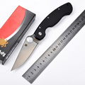 Hot selling C36 G10 handle CPM S30V blade 58HRC folding knife outdoor camping survival tool gift