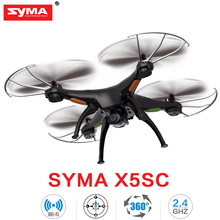 Original SYMA X5C X5SW WIFI RC Drone fpv Quadcopter with HD Camera 2.4G 6-Axis Real Time RC Helicopter Quad copter Toys
