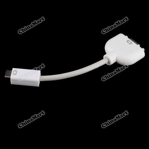 newbie Mini DVI to VGA Monitor Adapter Cable for Apple case for MacBook(China (Mainland))