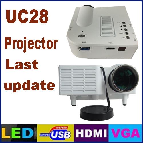 Проектор New uc28 GM40 HD /usb HDmi CE проектор hitachi hcp 380wx hdmi rj45 usb
