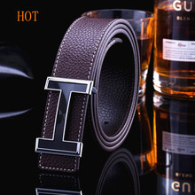 Buy New 2017 Belt Mens Luxury Brand Smooth Buckle Casual All-Match Belt Designer Men Fashion PU male Leather Belt Man for $10.78 in AliExpress store