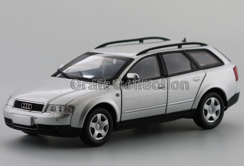 Car Model New Audi A4 MPV 1:24 Volkswagen VW A4 Touring wagon Silver Diecast Model(China (Mainland))