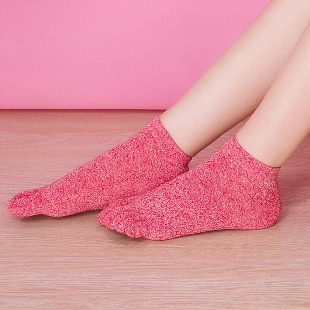 Top sale women short sock Non Slip Breathable cotton Toe socks for women home casual sleepwear cute socks(China (Mainland))