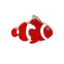 USB флеш-накопитель с милым животным дельфином/рыбкой/акулой/черепахой, флешка, 4 ГБ, 8 ГБ, 16 ГБ, 32 ГБ, 64 ГБ, мультяшная карта памяти осьминога(China)