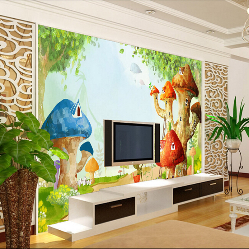 Buy 3d embossed wallpaper living room for Children s mural wallpaper