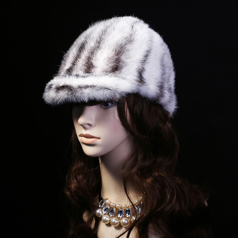 Здесь можно купить  2015 Top Quality Sale Price Mink Fur Baseball Cap Natural Fur cap Luxury knit mink fur hat winter fur hat  Одежда и аксессуары