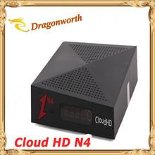 2015 nuovo nube hd n4 ricevitore satellitare con iks(China (Mainland))