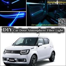 interior Ambient Light Tuning Atmosphere Fiber Optic Band Lights Suzuki Ignis Inside Door Panel illumination EL - TopGear Shop store
