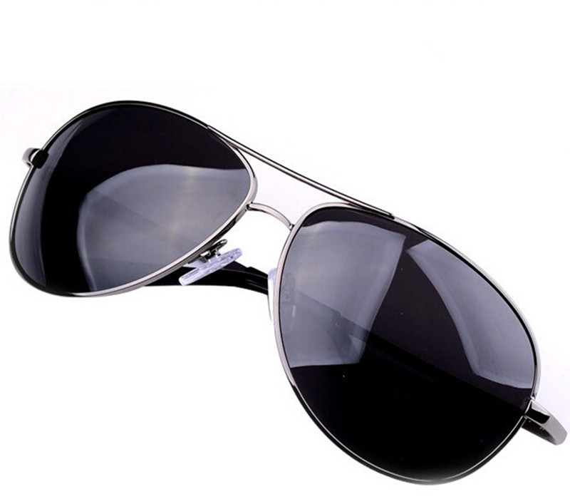 Brand Sunglasses Oculos Masculino Gunmetal Polarized Classic Metal Eyewear Sun Glasses Men Freeshipping - VANLOOK, A Fashion Store store
