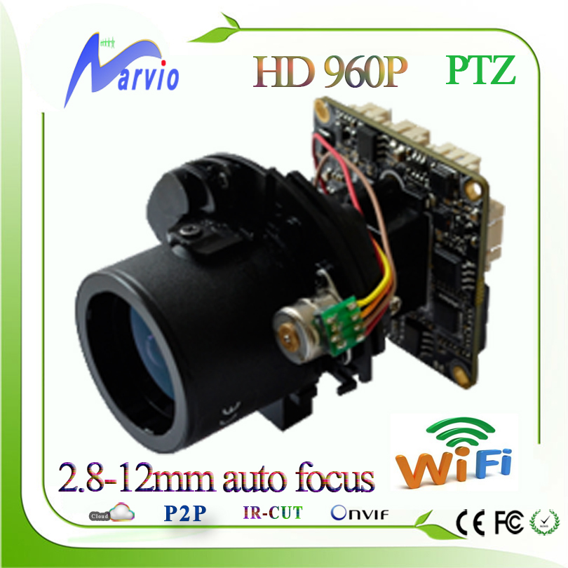 new 960P 1.3MP X4 zoom PTZ 2.8-12mm ptz module auto focus with free cms, RS485, wifi/3G optional, DIY your securiy CCTV system(China (Mainland))