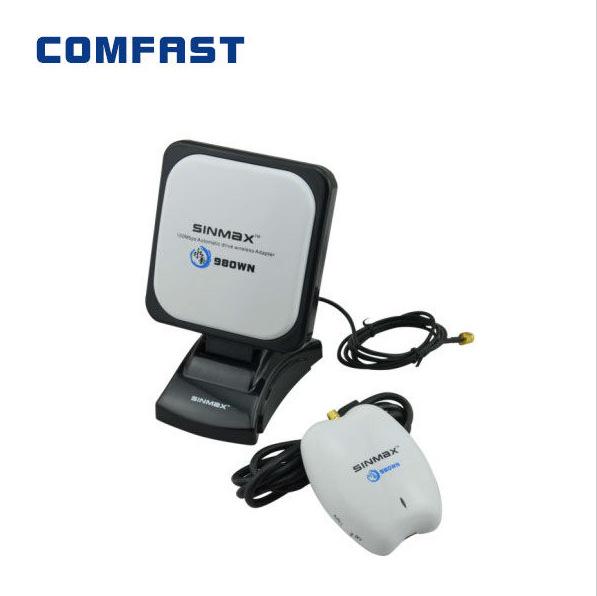 Free drop shipping wireless signal receiver tansmitter Sinmax SI-7300NA long range antenna wifi adapter usb network card(China (Mainland))