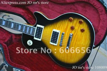new arrival guitar slash Vintage Sunburst  Electric Guitar with Free hardcase