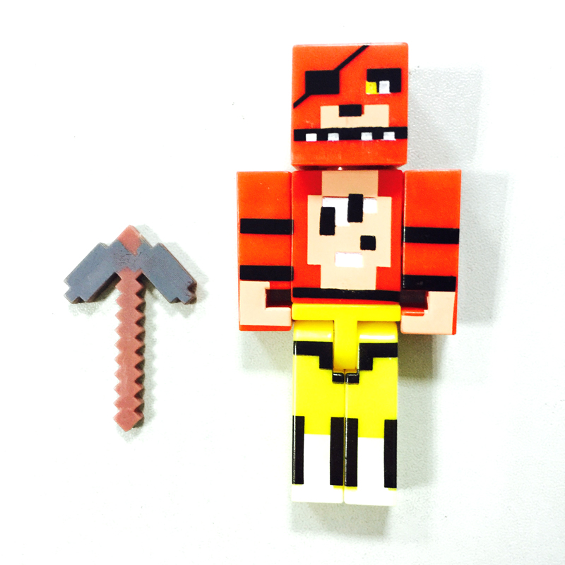 Wholesale 100sets Super Building Blocks Action Figure Freddy Bonnie Chica Foxy Model Kids Toys, Ship by EMS DHL Fedex(China (Mainland))