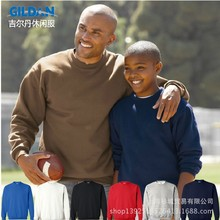 GILDAN Men's Solid Cotton Sweatshirts Active Sports Hoodies For Men O-Neck  Plus Size Sweatshirts Man TS-088(China (Mainland))