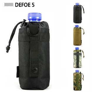 MOLLE system water bottle kettle packs waist bag holder,Military Heavy Duty Waterproof Advance Ultra-light Range Tactical Gear - DEFOE 5 Outdoors store