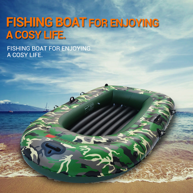 1 set 2 3 4 person military inflatable rubber fishing boat for 4 person fishing boat